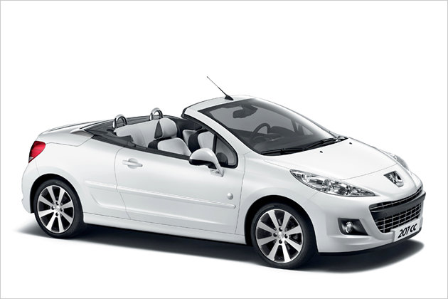 peugeot 207 cabrio car hire crete. Black Bedroom Furniture Sets. Home Design Ideas